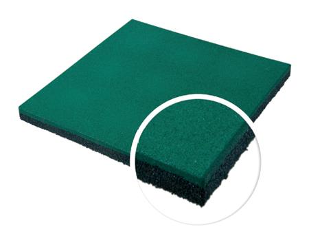 Травмобезопасная резиновая плитка 20 мм