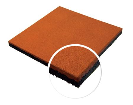 Травмобезопасная резиновая плитка 40 мм