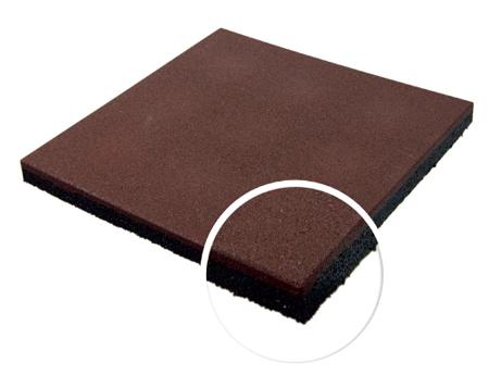 Травмобезопасная резиновая плитка 30 мм
