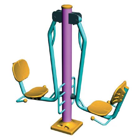 Уличный тренажер для укрепления мышц ног ST-4