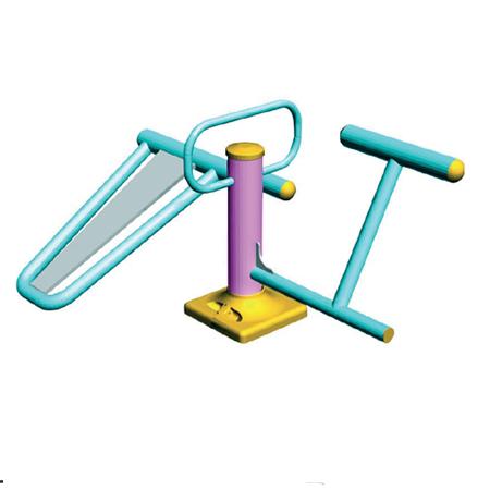 Уличный тренажер для укрепления мышц живота и поясницы ST-6