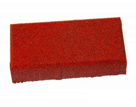 Травмобезопасная резиновая брусчатка «Кирпич» 20 мм