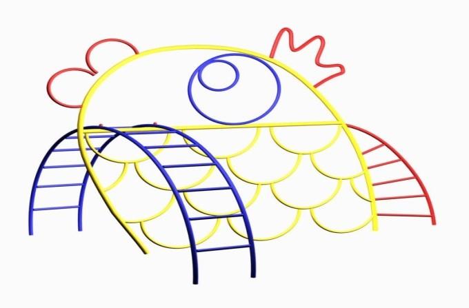Элемент для лазанья «Рыбка»