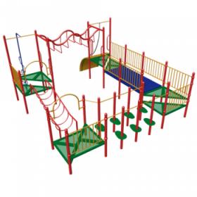 Большой детский спортивный комплекс