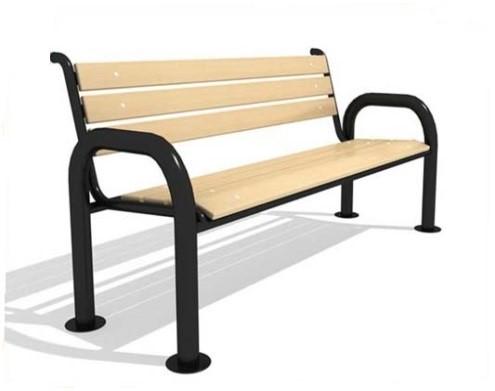 Скамейка со спинкой СМ1