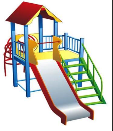 Детский игровой комплекс (площадка) ДК02