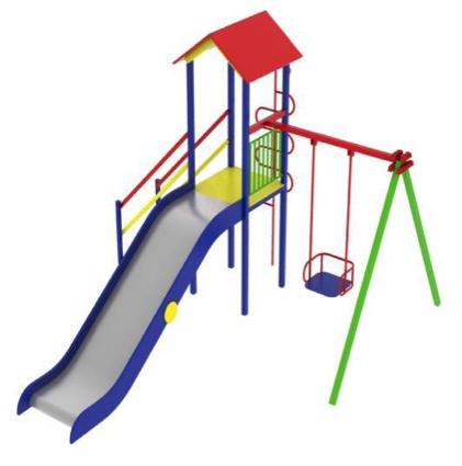 Детский игровой комплекс (площадка) ДК08