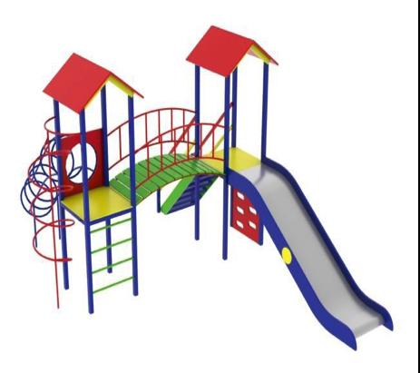 Детский игровой комплекс (площадка) ДК10