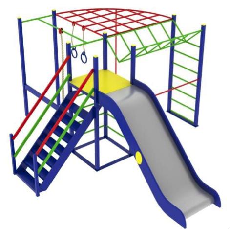 Детский игровой комплекс (площадка) ДК13