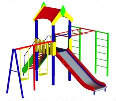 Детский игровой комплекс (площадка) ДК16
