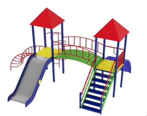 Детский игровой комплекс (площадка) ДК18