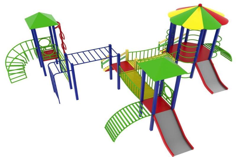 Детский игровой комплекс (площадка) ДК20