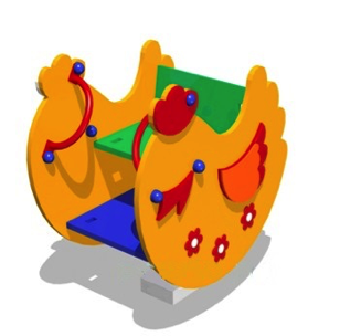 Качалка на пружине «Курочка» КП18