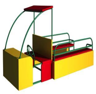 Машинка-песочница ПС05