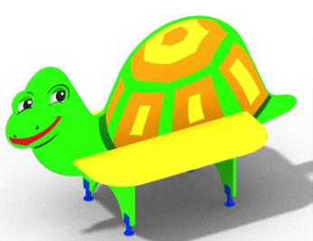Скамейка детская «Черепаха» СМ24