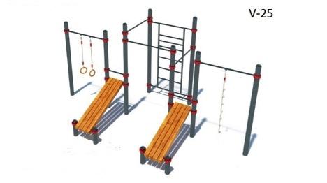 Гимнастический комплекс для воркаута V-25