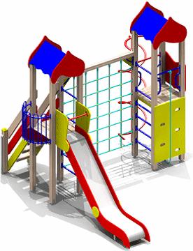 Детский игровой комплекс (площадка) ДК03