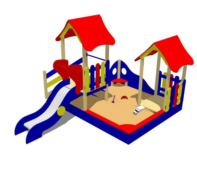 Детский игровой комплекс (площадка) ДК26