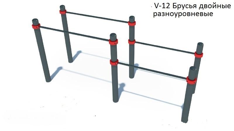 Гимнастический комплекс для воркаута V-12