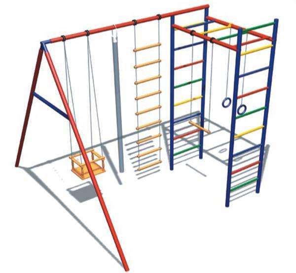 Детский спортивный комплекс СК31