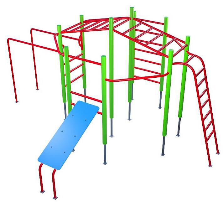 Детский спортивный комплекс СК32