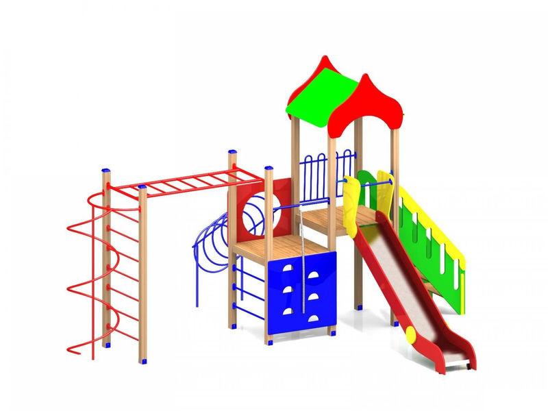 Детский игровой комплекс (площадка) ДК05
