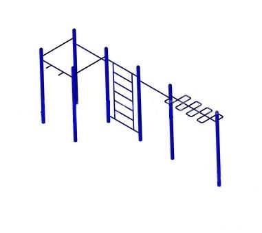 Гимнастический Турник для воркаута Атлет-3