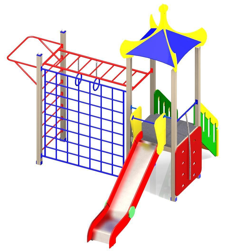 Детский игровой комплекс (площадка) ДК9