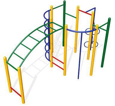 Детский спортивный комплекс СК24