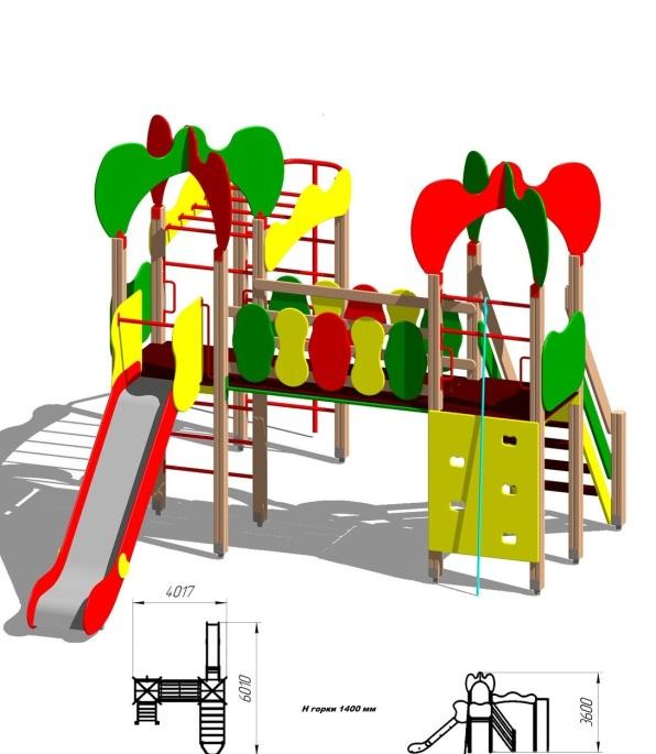 Детский игровой комплекс (площадка) ДК12