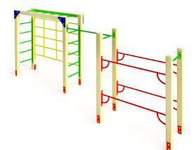 Детский спортивный комплекс СК25