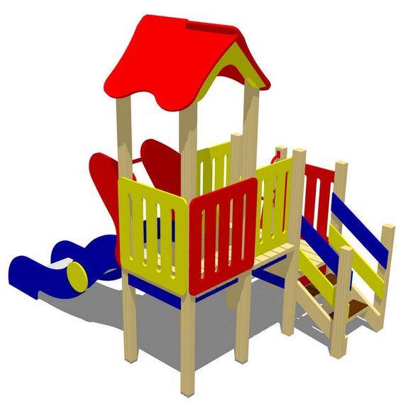 Детский игровой комплекс (площадка) ДК19