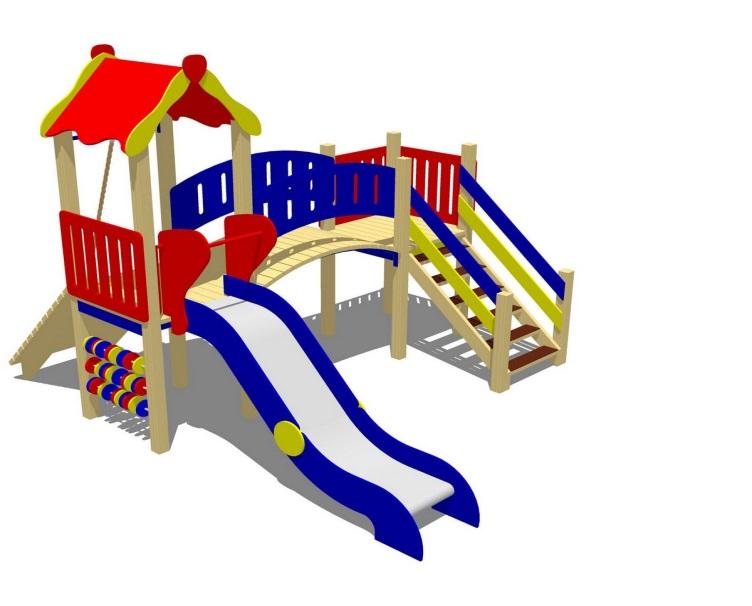 Детский игровой комплекс (площадка) ДК21