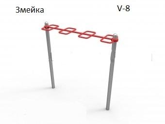 Гимнастический комплекс для воркаута V-8
