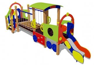 Игровой комплекс «Паравозик с вагоном» ДК.13