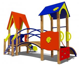 Игровой комплекс «Детство» ДК.4