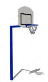 Стойка баскетбольная со щитом и сеткой СК29