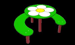 Столик «Ромашка» СТ.2
