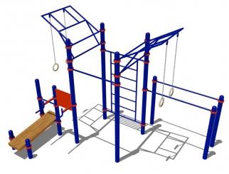 Гимнастический комплекс для воркаута V-28